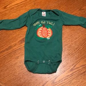 Other - Happy Fall Y'all Onesie